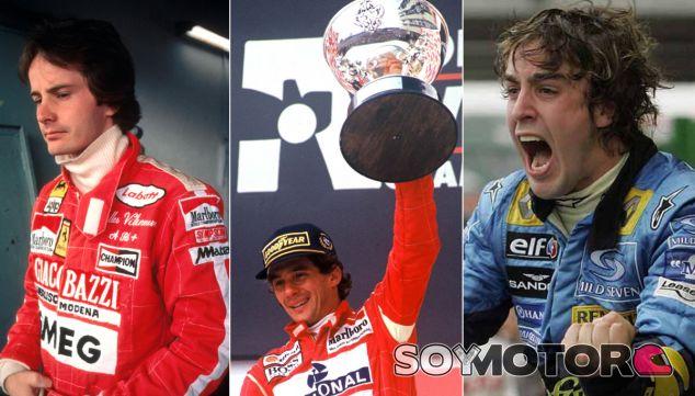 Tres generaciones, tres pilotos, tres talentos - LaF1.es