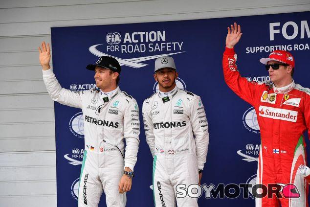 Análisis de la Clasificación GP Brasil F1 2016: Hamilton fuerte - SoyMotor