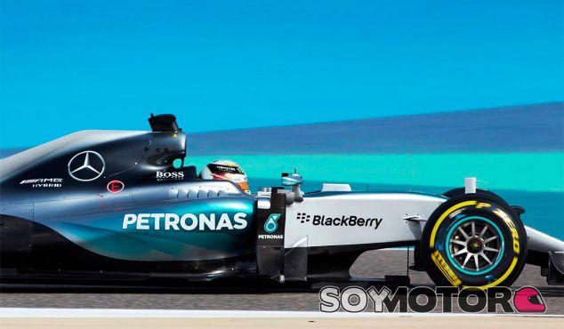 Lewis Hamilton en Sakhir, Baréin - LaF1