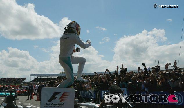 Hamilton logró su cuarta victoria en el GP de Gran Bretaña - LaF1