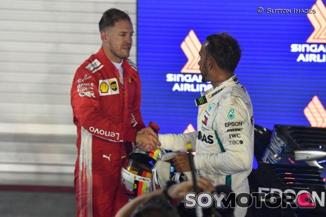 Lewis Hamilton y Sebastian Vettel – SoyMotor.com