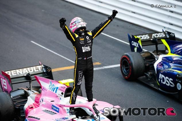 Hubert celebra su victoria en Mónaco - SoyMotor.com