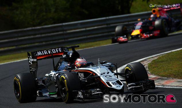 Nico Hülkenberg en el Gran Premio de Hungría - LaF1