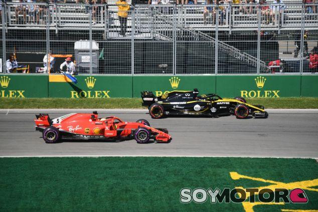 Nico Hülkenberg y Sebastian Vettel – SoyMotor.com