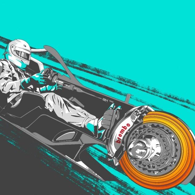 TÉCNICA: el funcionamiento de los frenos en el GP de Estiria F1 2020 - SoyMotor.com