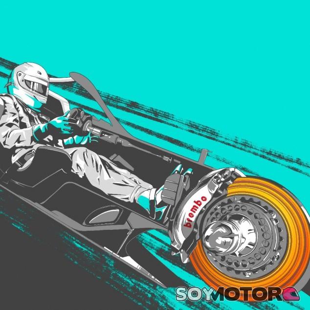 TÉCNICA: el funcionamiento de los frenos en el GP de Gran Bretaña F1 2020
