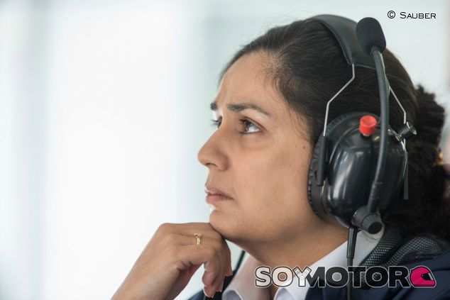 Monisha Kaltenborn en una imagen de archivo - SoyMotor