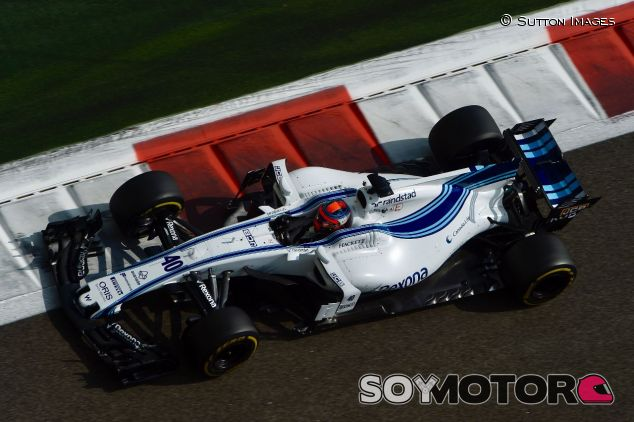 Robert Kubica en el test de Abu Dabi con Williams – SoyMotor.com