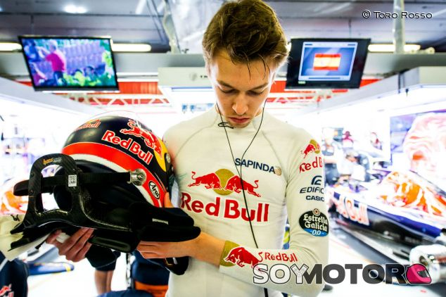 Daniil Kvyat en España - LaF1