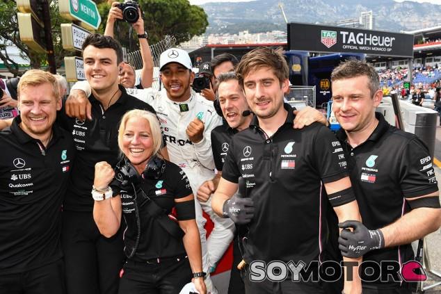 Lewis Hamilton en el GP de Mónaco F1 2019 - SoyMotor