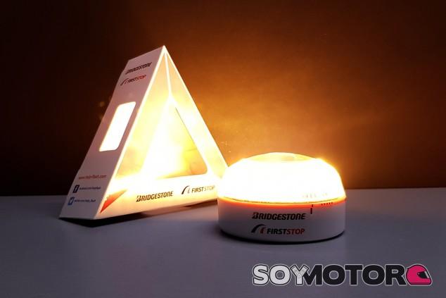 Help Flash: la luz de techo que sustituirá a los triángulos de emergencia - SoyMotor.com