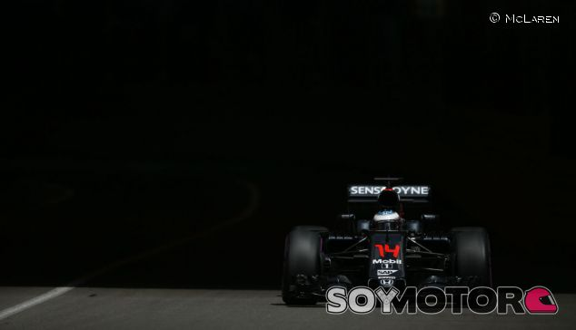 Fernando Alonso en Mónaco - laF1