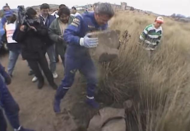 Surrealismo en el WRC (X): McRae y Grist arreglaron una suspensión a golpe de roca... ¡y marcaron los mejores tiempos! - SoyMotor.com
