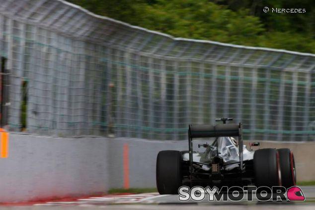 Mercedes en el Gilles Villeneuve - LaF1.es