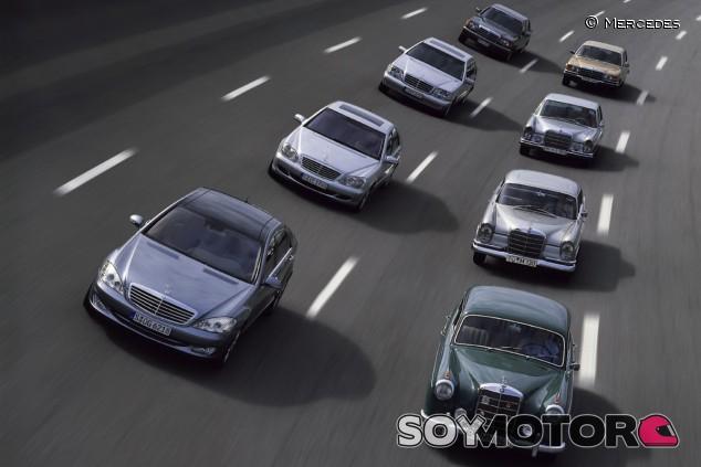 La Clase S ha estado presente desde los años 50 - SoyMotor.com