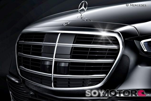 La parrilla del nuevo Mercedes–Benz Clase S W223 - SoyMotor.com