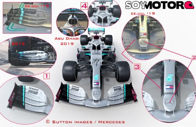 TÉCNICA: Análisis del Mercedes W11 EQ Performance