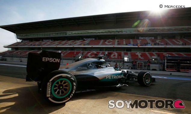 Nico Rosberg en los test de Montmeló - LaF1