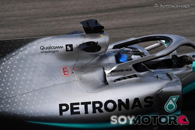 Valtteri Bottas en los test de pretemporada - SoyMotor