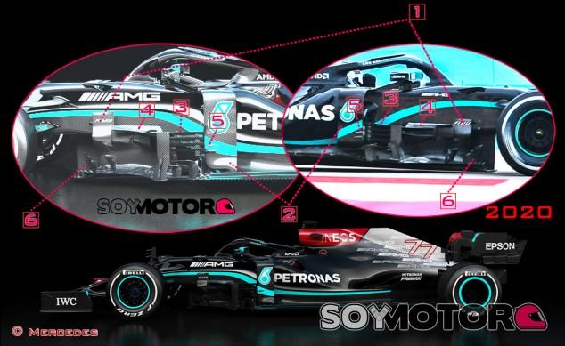 TÉCNICA: Análisis del Mercedes W12 - SoyMotor.com