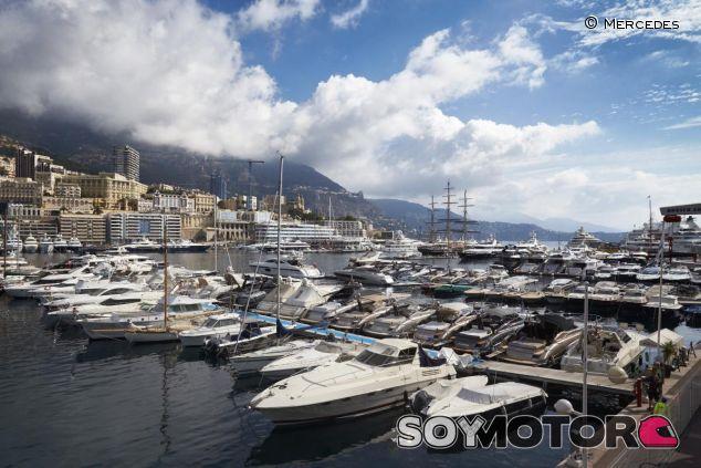 El puerto de Mónaco siempre presenta un aspecto espectacular en época de GP - LaF1