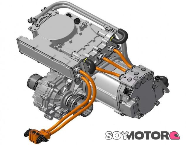 El motor está desarrollado por la empresa Swindon Powertrain - SoyMotor.com