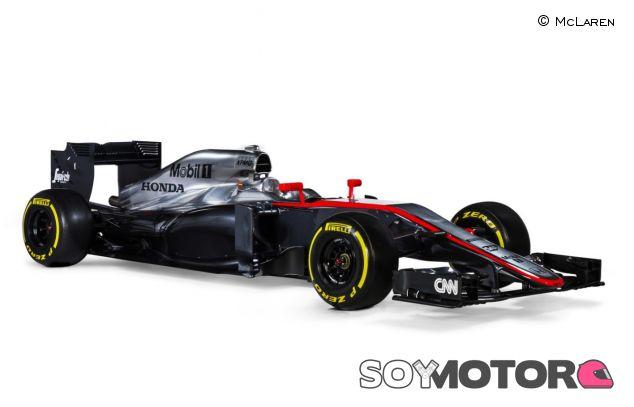 La primera imagen del MP4-30 que McLaren hizo pública - LaF1