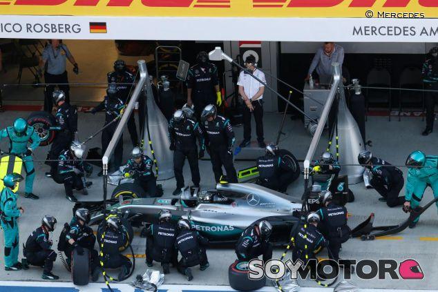 Análisis numérico de la carrera del Gran Premio de Rusia - LaF1