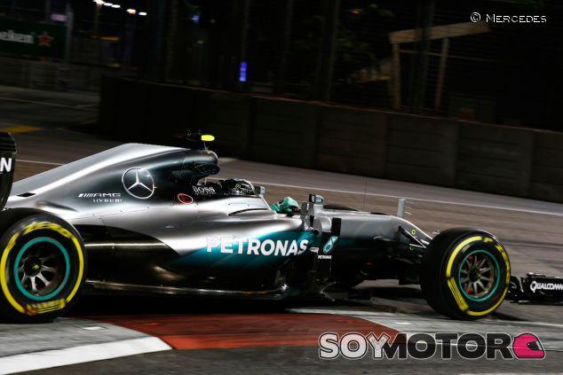 Nico Rosberg logra la Pole en Singapur - LaF1