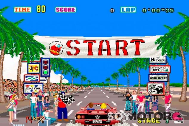 Los cinco mejores videojuegos de coches de los años '80 - SoyMotor.com