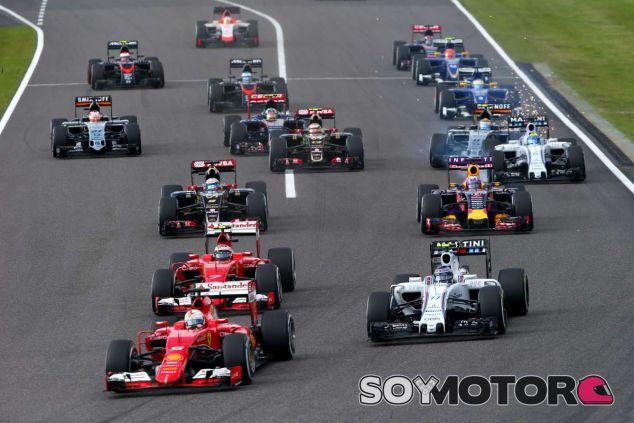 Salida del GP de Japón - LaF1