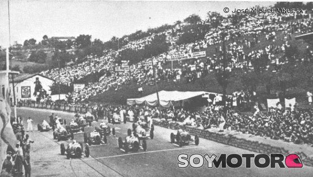 La parrilla de salida del GP de España de 1935 - LaF1