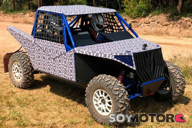 Pastor JTN: así es el nuevo buggy eléctrico de Jatón Racing - SoyMotor.com