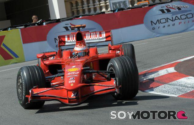 Kimi Räikkönen en Mónaco 2008 - LaF1