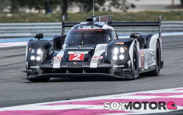 Romain Dumas a los mandos del Porsche 919 Hybrid - LaF1