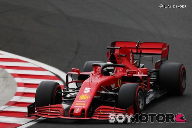Sebastian Vettel en Hungría - SoyMotor.com