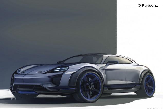 El Porsche Taycan Cross Turismo de producción se mostrará el próximo año - SoyMotor.com