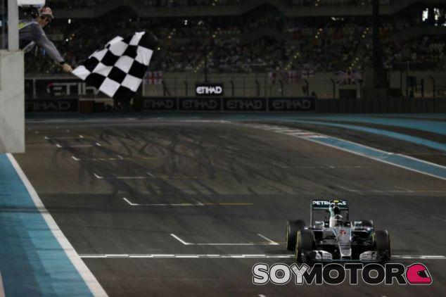 Nico Rosberg consiguió su tercera victoria consecutiva - LaF1