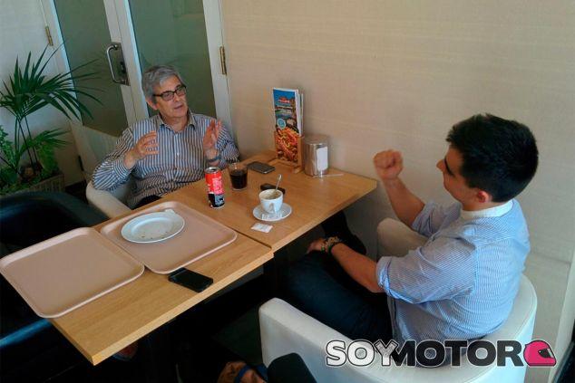 Tres horas con Blancafort: Fórmula 1 antigua vs. Fórmula 1 actual - SoyMotor