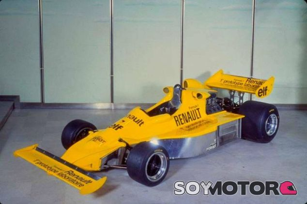 El prototipo de Renault con su primer turbo de 1976 - LaF1