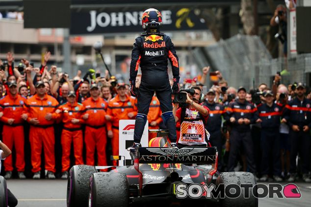Daniel Ricciardo, tras ganar en Mónaco - SoyMotor.com