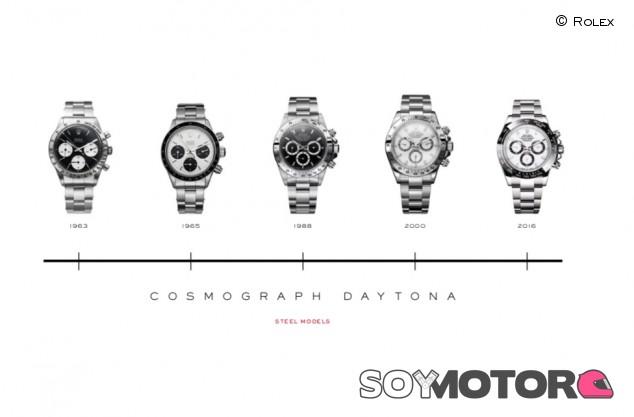 Rolex en las carreras: un repaso histórico a sus mejores relojes - SoyMotor.com
