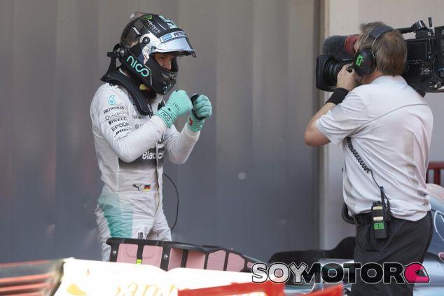 Nico Rosberg triunfó por primera vez este año en el GP de España - LaF1