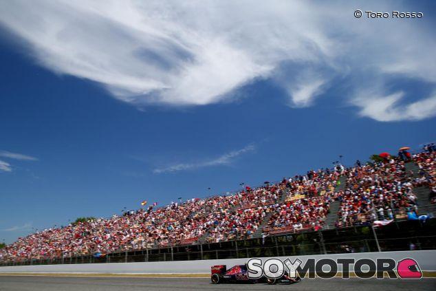Carlos Sainz con el Toro Rosso - LaF1.es