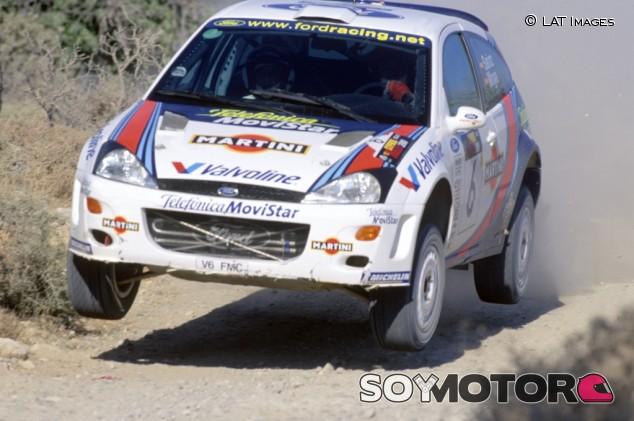 Carlos Sainz y la racha cortada en el 'polémico' Rally de Chipre 2000 - SoyMotor.com