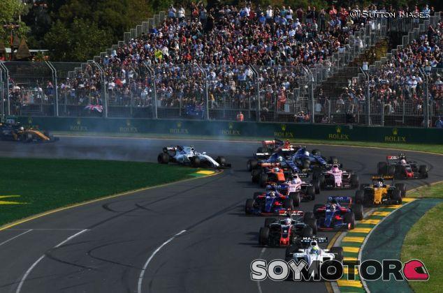 Salida del GP de Australia F1 2017 - SoyMotor