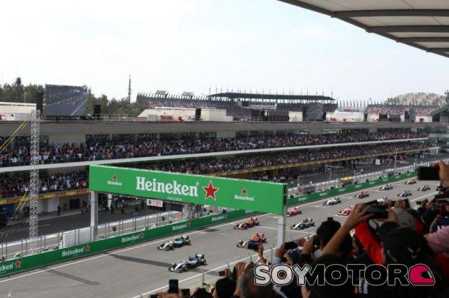 El GP de México fue muy caótico en su post carrera - SoyMotor