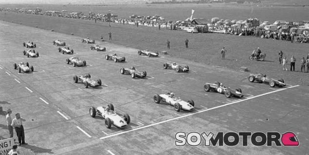 Salida del Gran Premio de Austria de 1963 - LaF1