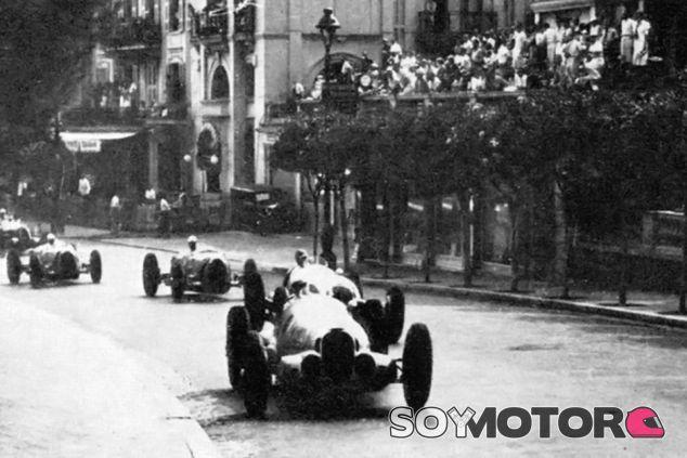 Salida del GP de Mónaco de 1937 - LaF1.es