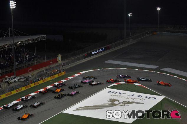 Salida del GP de Baréin 2018 - SoyMotor.com